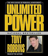 Unlimited Power Featuring Tony Robbins Live by Anthony (Audio CD – Audiobook)NEW