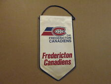 AHL The Fredericton Canadiens Vintage Banner Pennant