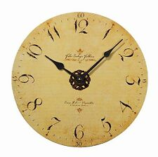 Kieninger Wanduhr Uhr Quarz Holz Antik 5573-90-07