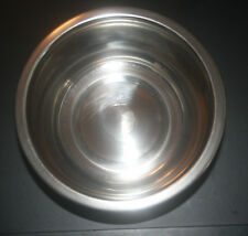 Nice 1 Quart Stainless Steel Metal Dog / Pet Food, Water Dish Bowl, Brand New