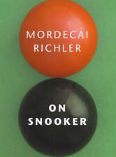 NEW Playing Snooker BOOK On Snooker by Mordecai Richler