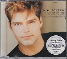 RICKY MARTIN - THE CUP OF LIFE - CD SINGLE -