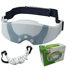 New Mask Migraine DC Electric Care Forehead Eye Massager with Free Shipping