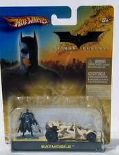 Hot Wheels Mattel Batman Begins Batmobile Camouflage Tumbler W/Batman MOC 2005