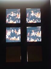 ROBERT LAMOUREUX : PLANCHE 4 EKTA , EKTACHROMES , DIAPOSITIVES ORIGINALES 6x6cm
