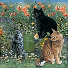 NEW! Otter House In the Garden 1000 piece cats jigsaw puzzle
