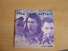 """The Jazz Devils: It's A Crime  7"""": 1988 UK Release: Picture Sleeve."""