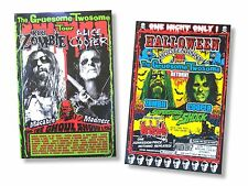 Alice Cooper and Rob Zombie 2010 Tour Poster Set of 2 New Official Lot of two