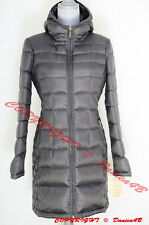 Michael Kors Packable Quilted Hooded Down Jacket Puffer Coat Size M Rock Grey