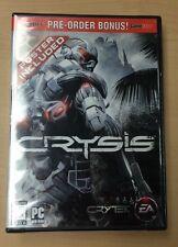 Crysis GameStop Pre-Order Bonus Poster Sealed New!