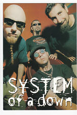 SYSTEM OF A DOWN carte postale n° C698 S.O.A.D. SOAD