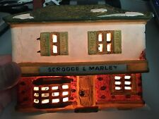 Department 56 Dickens Village A CHRISTMAS CAROL Scrooge and Marley --- with box