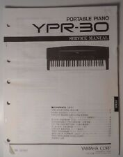 Original Yamaha  YPR-30 Portable Piano SERVICE Manual