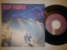 """DEEP PURPLE - YOU KEEP ON MOVING, RARE YUGOSLAVIAN 7"""" SINGLE, DIFFERENT COVER"""