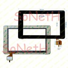 "Vetro Touch screen Digitizer 7,0"" Mediacom SmartPad 740 S1 M-MP740S1 Tablet Nero"