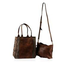 Brown Grizzly Oversized Handbag Lot 115