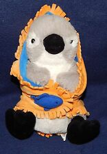 "9"" Fiesta Blanket Babies Plush PENGUIN Stuffed Animal w/ Blanket 2008"
