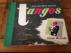 """(4) 10"""" 78 RPM RECORDS VICTOR ALBUM SET P-83 TANGOS / XAVIER CUGAT ORCHESTRA"""