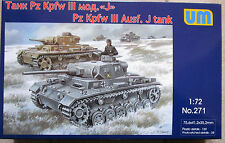 KIT DT. carri ARMATI III J per di 271 in 1/72