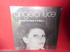 ANGELA LUCE Dammi un bacio e ti dico... LP 1980s MINT-  Italy SIGILLATO RARITA'