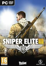 Sniper Elite III (PC-DVD) BRAND NEW SEALED
