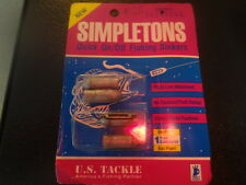 SIMPLETONS  3/8 oz.QUICK ONOFF FISHING SINKERS NOS MADE IN USA