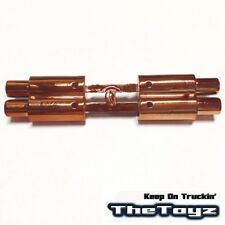 Twin Exhaust Pipe Dummy 1/10 RC Drift Racing Touring On-Road Car Toyz 233 Copper