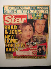 Star Magazine 6-26-2001. Brad Pitt/ Jennifer Anniston! Donnie & Marie Osmond!