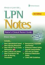 LPN Notes: Nurse's Clinical Pocket Guide (Davis's Notes Book), Myers RN, Ehren