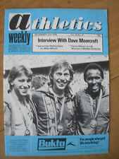 ATHLETICS WEEKLY DECEMBER 23rd 1978 DAVE MOORCROFT 1500m