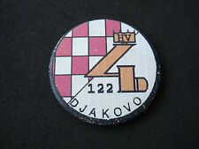 Croatia army, 122. Brigade - Djakovo, Đakovo, wartime badge; Homeland war