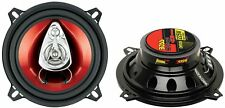 "2) New BOSS CH5530 5.25"" 3-Way 225W Car Audio Coaxial Speakers Stereo PAIR Red"