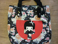 DISASTER DESIGNS KIMONO DOLL DISCONTINUED DESIGN BAG BLACK TAGS