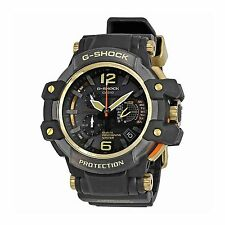 Casio G-Shock GPW1000GB-1A Sky Cockpit GPS Hybrid Wave Ceptor Black Gold Watch