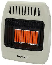 Kozy World KWN391 18K  NATURAL GAS Infrared Vent Free Wall Heater