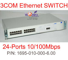 3COM SUPERSTACK SWITCH 1100 RS-232 NETWORKING SWITCH 3C16950 16950100006  #K069