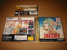 Sega Saturn Japan Snatcher