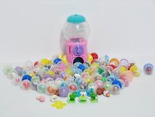 Huge Lot 100+ pcs Squinkies Teapot & Gumball Dispenser Coins Faux Squinkies EUC