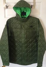 NWT Boys The North Face Hudson Hadden Quilted Shirt Jacket Scallion Green XL