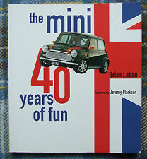 THE MINI 40 YEARS OF FUN BRIAN LABAN JEREMY CLARKSON GREAT PHOTOS