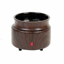 Wood Look Ceramic Electric Scented Oil Tart Candle Heater Burner/Warmer 20W Lamp
