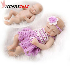 Handmade Full Body Silicone Reborn Baby Girl Doll Soft Newborn Bath Girl Toy