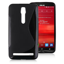 "ASUS Zenfone 2 (5.5"" Inch) Case - Free shipping (from Canada) - Black (S LINE)"