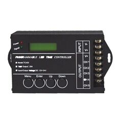LED Time Dimmer RGB Controller TC420 DC12V/24V 5Channel 20A Programmable Best