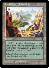 UNDISCOVERED PARADISE Visions MTG Land RARE