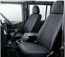 Land Rover Defender 90 2nd Row & 110 3rd Row Black Seat Covers - VPLDS0013