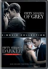 Fifty Shades of Grey + 50 Shades Darker: Complete Movies 1 & 2 Box/DVD Set NEW!