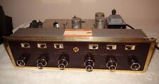 Vintage Scott LC-21 Stereo Tube Preamplifier Working Tube Preamp