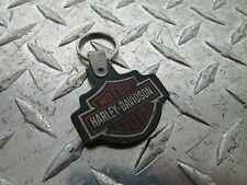 Harley Davidson Bar & Shield Key Chain SAUK PRAIRIE H-D SAUK VALLEY WI