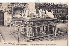 BF12463 environs de bourg eglise de brou mausolee de phi france front/back image